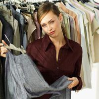 Run out of room in your closet? Build your own clothes rack.