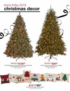 Led Christmas Tree, Christmas Decorations, Holiday Decor, Black Friday News, Coupons, Ads, Throw Pillows, Check, Toss Pillows