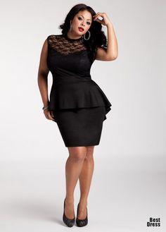 aa525d61 Dresses for curvaceous women Ashley Stewart Thick Girl Fashion, Curvy  Fashion, Plus Size Fashion