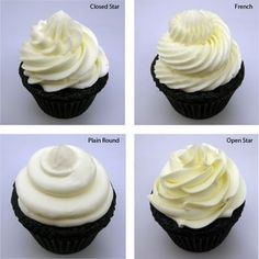 always good to have as many versions of these as possible..Cupcake Decorating Tutorial