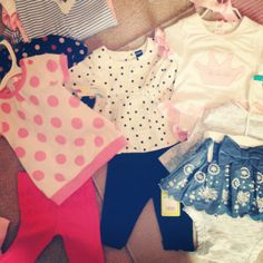 Celebrating baby with showers and favorite gifts #babyshower #babyclothes