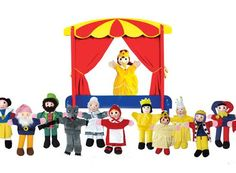 Roll up, roll up for puppet play.  I need this for preschool music.