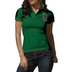 Ralph Lauren Green Pony Short Sleeved Polo  http://www.ralph-laurenoutlet.com/