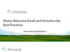 Another slideshare from Loren McDonald--this one is longer and more comprehensive. Welcome Emails, Best Practice, Email Marketing, Messages, Community, Text Posts, Text Conversations