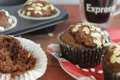 Muffins, Healthy Snacks, Healthy Recipes, Pain, Banana Bread, Brunch, Cooking, Breakfast, Sweet