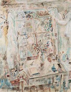 A retrospective reveals the range of the remarkable British artist and poet. David Jones Artist, Artist Painting, Painting & Drawing, Galleries In London, Still Life Art, New Artists, Art Museum, Flower Art, Watercolor Art