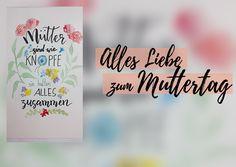 """Künstlerin Janine schenkt uns zum Muttertag ein DIY-Video zum Handlettering: """"Mütter sind wie Knöpfe, sie halten alles zusammen.""""     Wir wünschen allen MAMAS #imländle einen WUNDERVOLLEN MUTTERTAG! IHR SEID TOLL!          JanineBitzer ist30 Jahre alt und lebt inAlbstadt. Sie zeichnet und malt, seit sie denken kann.   #Handlettering #HandletteringDIY #HandletteringzumNachmachen #Kunst#imländle #KünstlerinJanine #metropolekannjed"""