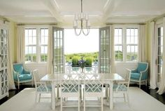 Nantucket Real Estate and Nantucket rentals are Great Point Properties specialty. Start your Nantucket vacation here. Casual Dining Rooms, Dining Room Chairs, Dining Area, Enchanted Home, Coastal Living, Coastal Style, Beauty Room, Renting A House, Small Spaces