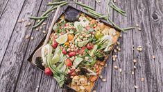 Vegan Vegetarian, Vegetarian Recipes, Pak Choi, Food Inspiration, Cobb Salad, Delish, Curry, Lime, Veggies