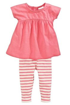 Buy Pink Dress And Leggings Set (0-18mths) from the Next UK online shop