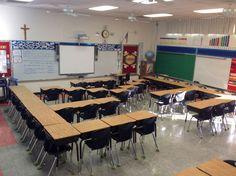 classroom desk arrangements
