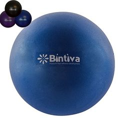 Mini Pilates Ball 7  9 Inch Stability Ball Used for Exercise Yoga Pilates and Therapy *** Details can be found by clicking on the image.