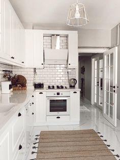 Kitchen Room Design, Kitchen Dinning, Interior Design Kitchen, Kitchen Decor, New Kitchen, Home Design Decor, Home Room Design, Küchen Design, House Design