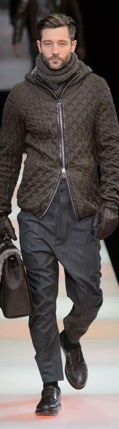 Giorgio Armani Menswear Fall. SCORPARIA ♥