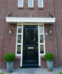 Front Door Entrance, Facade, Garage Doors, House Design, Garden, Outdoor Decor, Home Decor, Style, House