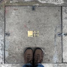 attention to #detail is important especially when #exploring new places. this is the kind of detail you find on sidewalks around #hongkong. i've no idea what it says but i love the metal detail. #lookingdown #city #explore #explorer #urban #urbanexploration #street #streetphotography #streetlife #travel #travelgram #traveling #travelphotography #asia