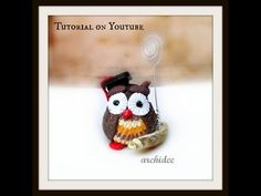Gufetto Laureato | Tutorial | Polymer Clay | DIY Owl Graduation Favors | Bomboniere Laurea