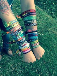 Festival wristband collection