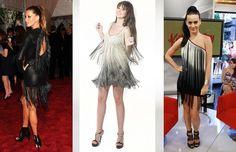 AS FRANJAS ESTÃO NA MODA  Um mais lindo que o outro, e são as celebridades que vão nos provar que os vestidos com franjas são, de fato, um arraso!! Gisele Bündchen, Natasha Cabral da Black Suit Dress e Katy Perry com vestidos de arrepiar, maravilhosas! Compre o seu na http://blacksuitdress.com.br/vapor-s-artezanale/vestido-curto-com-franjas-degrade-216.html