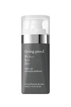 Apply this deep-action serum before bed to achieve weightless shine while you get your beauty rest. Living Proof Perfect Hair Day® Night Cap Overnight Perfector, $28; livingproof.com   - MarieClaire.com