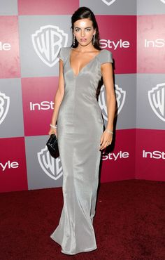 Camilla Belle in Armani Diva Fashion, Look Fashion, Elegant Dresses, Beautiful Dresses, Camila Belle, Girl Celebrities, Celebs, Fashion Silhouette, Elegant Sophisticated