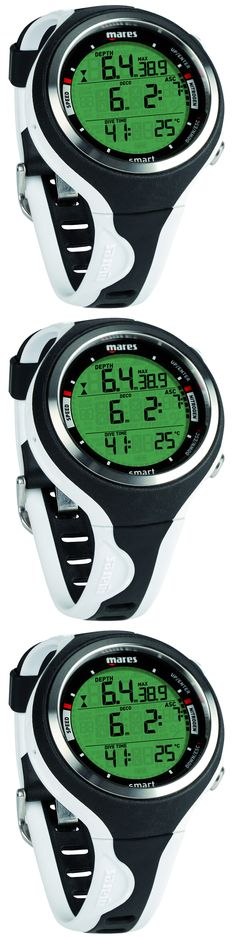 Dive Computers 50882: Mares Smart Dive Computer Scuba Diving Watch Black/White BUY IT NOW ONLY: $349.95 http://www.deepbluediving.org/xs-scuba-switch-mask-review/