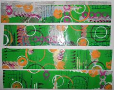 All that Glitters Scrapbooking: Gelli Play with Packing Tape