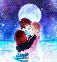 Ayato Sakamaki and Yui from Diabolik lovers Subaru Sakamaki, Ayato Sakamaki, Manga Anime, Anime Amor, Anime Love Couple, Cute Anime Couples, Sweet Couples, Manga Couple, Yui And Ayato