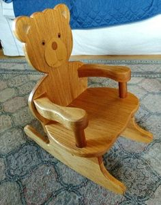 A Rocking Chair for a Friend #WoodworkingProjectsChair  #WoodworkCrafts