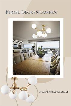 Moderne Deckenleuchte mit Gestell aus Metall in satinierten Gold und weißen Milchglas Kugeln findest du bei Lichtakzente.at. Die Glaskugel Deckenbeleuchtung trägt zur modernen Beleuchtung im Wohnzimmer, Schlafzimmer, Esszimmer, Küche oder in einem Hotelzimmer bei. Eine passende Beleuchtung in Gold über ihrem Esstisch oder Küchentisch // #leuchte #wohnen #beleuchtung #licht #gemütliches licht #lampen und leuchten #lichtakzente Oversized Mirror, Interior Design, Furniture, Home Decor, Modern Lighting, Lighting Ideas Bedroom, Dining Table Lighting, Nest Design, Decoration Home