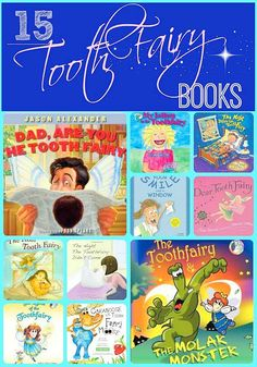During your discussions about dental health, your children are sure to mention the Tooth Fairy! This is the perfect time to bring out some books for discussion. Take a look at this list and see if you can find a new favorite for your family.