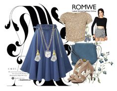 """""""Romwe"""" by dinka1-749 ❤ liked on Polyvore featuring Nanette Lepore and Alice + Olivia"""