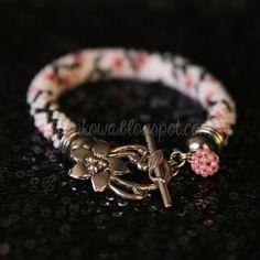 ♥ Wiankowa: handmade bracelet - cherry blossom