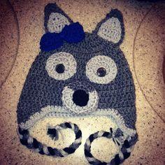 Crochet Wolf hat Crochet Wolf, Crochet Baby, Wolf Hat, Crocheted Hats, Juices, Baby Hats, Wolves, Stitch Fix, Hooks