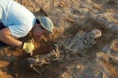Tumba: Yacimiento arqueológico de Valdeherrera, cerca de Calatayud (Zaragoza)