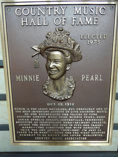 Country Music Hall of Fame Plaques | ... 08 31 - 152704z - Member Plaques, Country Music Hall of Fame - L 001
