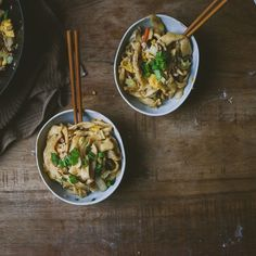 Homemade Knife-Cut Noodles with Simple Pork Chao Mian recipe on Food52