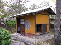 Japanese Tea House, Japanese Tea Ceremony, Shed, Home And Garden, Outdoor Structures, Architecture, Room, Arquitetura, Bedroom