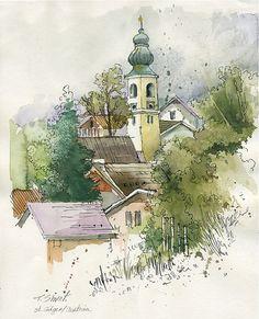 St. Gilgen by Tami Shvat