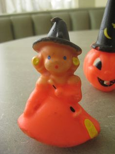 Vintage Gurley Candles Halloween Candles Witch and by BettyAndDot, $14.50
