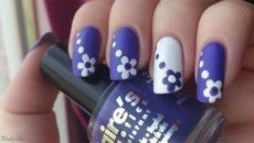 cool 45 Easy Flower Nail Art Designs for Beginners