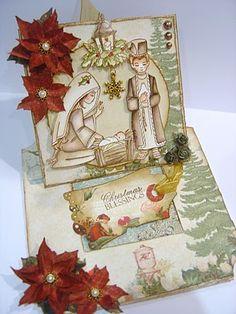 Debbie Dolphin: A Pop up Nativity card