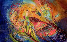 The Eternal Dance Painting by Elena Kotliarker