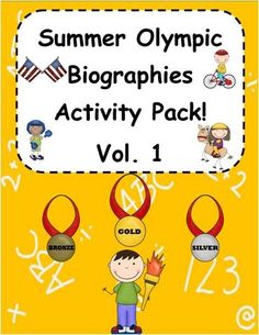 Summer Olympic Biographies Super Activity Pack!
