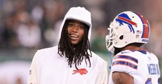 New Buffalo Bills receiver Kelvin Benjamin impressing before he even hits the field New Buffalo, Buffalo Bills, Cardale Jones, Kelvin Benjamin, Nfl Week, Fantasy Football, Carolina Panthers, Weekend Is Over, Wide Receiver