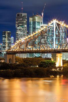 Story Bridge - Brisbane, Australia - climb it in 2015 https://www.hinterlandtours.com.au/tour-07.html