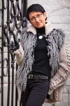 """Купить Куртка """"Удачный день"""" - бежевый, однотонный, куртка на молнии, куртка на осень, куртка на заказ"""