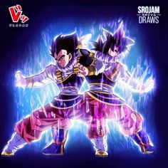 Goku & Vegeta yardrat Ultra instinct Draw By: & Son Goku, Buu Dbz, Broly Ssj3, Manga Anime, Anime Art, Manga Girl, Anime Girls, Dragonball Super, Anime Characters