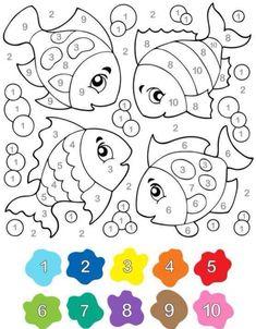 Coloring pages for kids educational coloring pages free printable coloring pages for kids kindergarten preschool – BuzzTMZ Preschool Learning, Kindergarten Worksheets, Preschool Activities, Teaching, Coloring For Kids, Coloring Books, Coloring Pages, Coloring Sheets, Color By Numbers