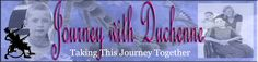 Banner for the Journey with Duchenne Website